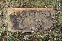 Thelma Huff Rahe (1902-1931) - Find A Grave Memorial