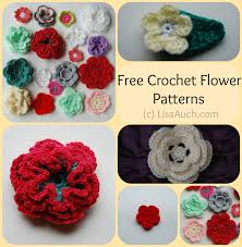 Small Crochet Flower Pattern Amazing Design Ideas