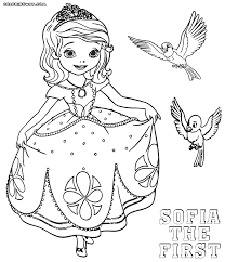 Sofia The First Coloring Pages Printable Coloring Page For Kids