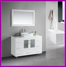 single white bathroom vanities. Bathroom Vanities 48 Inch Single Sink Stunning Stanton White Vanity Porcelain Vessel Pics Of Concept