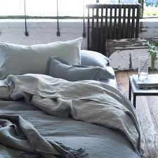 biella pale grey dove bed linen