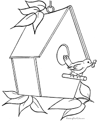 Small Picture House coloring sheets 002