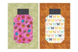 Beginner Friendly Bug Jar Quilt Block Pattern &  Adamdwight.com
