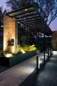 The simple steel gate design reflects your style and. World Of Architecture 30 Modern Entrance Design Ideas For Your Home