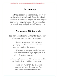 Annotated Bibliography Template Free PDF Document Download
