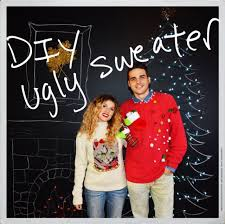 DIY Ugly Sweater  One Artsy MamaUgly Christmas Sweater Craft Ideas