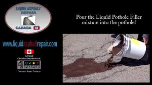 Liquid Asphalt Liquid Asphalt Repair Youtube