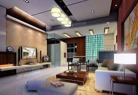 cool modern living room lighting four white shade