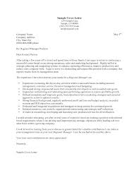 Best Photos Of Regional Manager Cover Letter Sample Regional