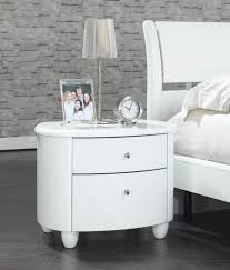 top 61 superb white lacquer glossy white nightstand bedside table ideas gray nightstand design