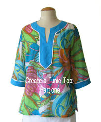 Tunic Top Patterns Adorable How To Make A Tunic Top Part One