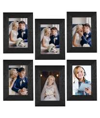 alwaysgift mdf table top wall hanging black collage photo frame pack of 6 alwaysgift mdf table top wall hanging black collage photo frame pack