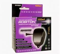 <b>Блок питания</b> универсальный <b>ROBITON</b> SN1000S 1000мА ...