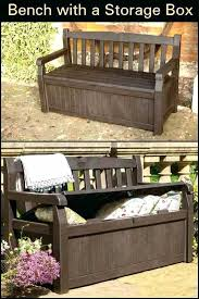 patio storage bench beautiful best outdoor furniture images on keter 150 gallon deck box beaut