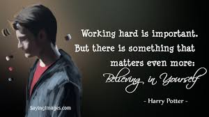 Harry Potter Status Quote