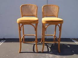 Image Is Loading 2BarStoolsThonetBentwoodPairofDining Thonet Bar Stool N92