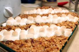 sweet potato casserole recipe with marshmallows and pecans. Perfect Potato Sweetpotatocasserolebaked3 On Sweet Potato Casserole Recipe With Marshmallows And Pecans C