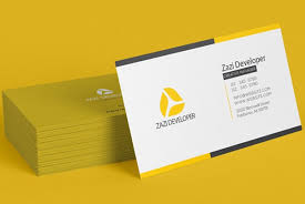 Create 4 Modern Business Card Design By Zazideveloper