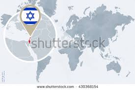 israel map stock images, royalty free images & vectors shutterstock Israel In The World Map abstract blue world map with magnified israel israel flag and map vector illustration israel world map