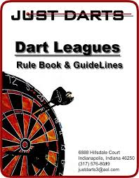 Darts Points Chart Just Darts Rule Book