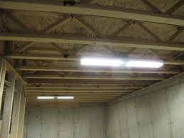 unfinished basement lighting. Image Of: Unfinished Basement Lighting Code