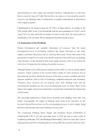 proposal 5 implementation of water