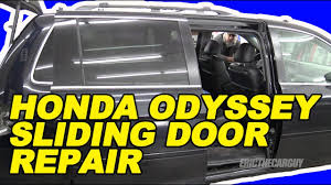 honda odyssey sliding door repair the easy way