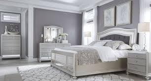 grey bedroom white furniture. Coralayne Silver Bedroom Set More Grey White Furniture O
