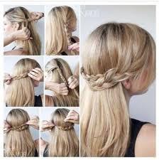 Hair Style For Straight Hair 23 braid ideas for medium hair waterfall braid medium length 6429 by wearticles.com