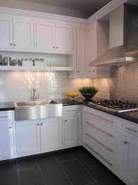 marble countertops white cabinet dark grey floor tiles lovely kitchens rhcom wooden with gray brown marble