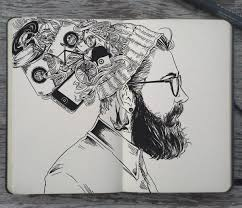 Hipster Drawings 7 Hipster Drawings Art Ideas Free Premium Templates