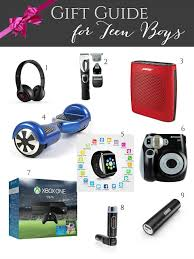 Evolution of Style: Gift Guide for Teen Boys + Giveaways Galore ...