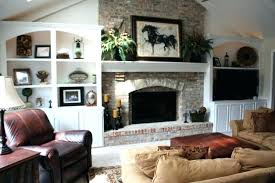 fireplace cabinets each side fireplace with shelves on each side wish i could flank bookcases on