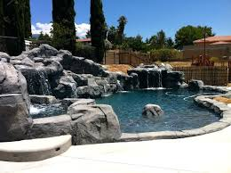 diy rock waterfall into pool water features photos waterfalls multiple slide and formation