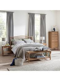 Croft Collection Bala Spindle Bed Frame, King Size at John Lewis ...