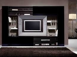 wall unit design for living room in india