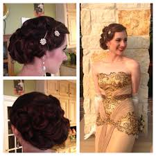 Gatsby Hair Style old hollywoodgreat gatsby updo for prom gatsby what gatsby 7291 by stevesalt.us