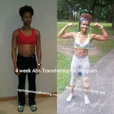 4 Week Abs Transformation