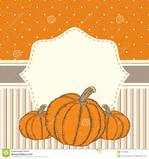 Pumpkin Invitations Template Hand Drawn Invitation Or Greeting Thanksgiving Card Template Wit