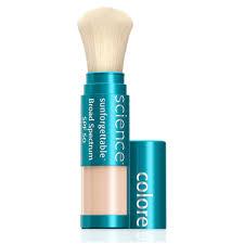 colorescience sunforgettable brush on sunscreen spf 50 tan matte skin