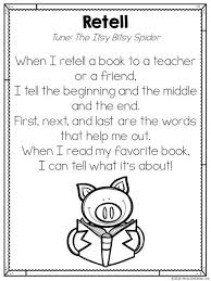 best library lessons images school teaching   retelling song printable poem by miss decarbo
