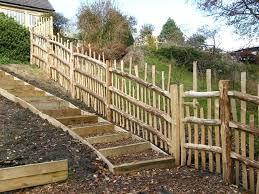 fence around garden high paling fence around vegetable garden to exclude deer garden fence edging s