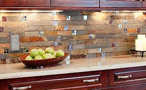 glass mosaic tile kitchen backsplash ideas