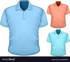 Blue Polo Shirt Design Mens Polo Shirt Design Template