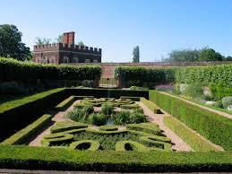 english garden design. Formality Still In Hampton Court Today. English Garden Design