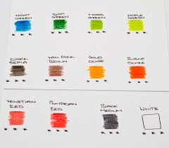 Lyra Rembrandt Polycolor Colour Chart Lyra Rembrandt Aquarelle Review The Art Gear Guide