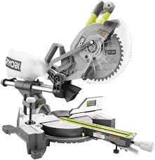 miter saw labeled. ryobi p3650b 36v dual bevel sliding miter saw product shot labeled i