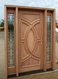 Home Design : 85 Mesmerizing Wooden Front Door With Glasss