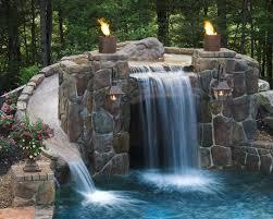 60 Backyard Waterfall Ideas You Should Do For Bautiful Home