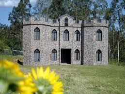 small castle house plans garden